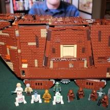 LEGO Sandcrawler Complete
