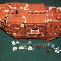 LEGO Sandcrawler Top