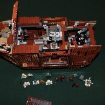 LEGO Sandcrawler Top Open