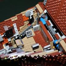 LEGO Sandcrawler Command Bridge