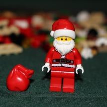 LEGO Santa with Bag