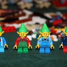 LEGO Christmas Elves