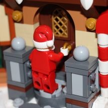 Santa Keyhole