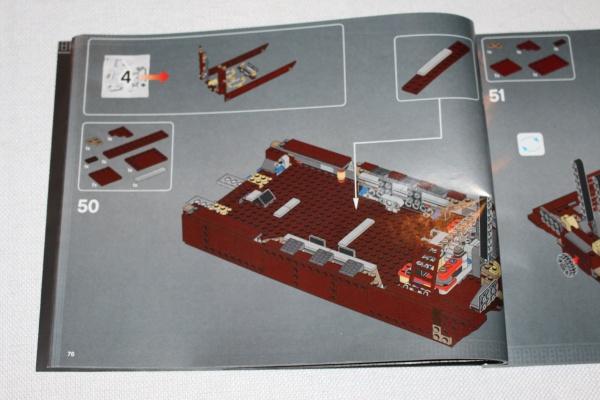 LEGO Sandcrawler Instructions