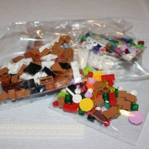 LEGO Gingerbread House Packets
