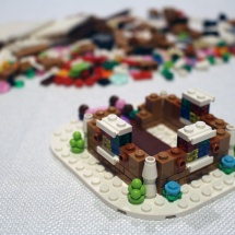 LEGO Gingerbread House 5