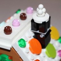 LEGO Gingerbread House Chimney