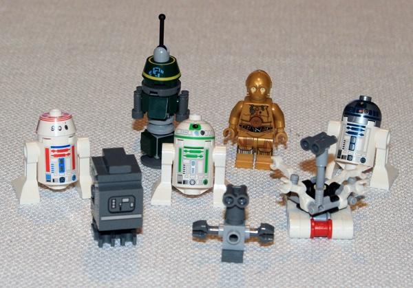 LEGO Sandcrawler Droids