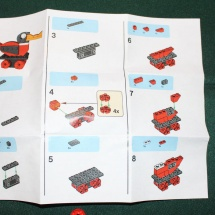 LEGO Wooden Duck Instructions