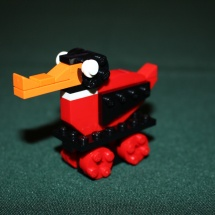 Completed LEGO Wooden Duck