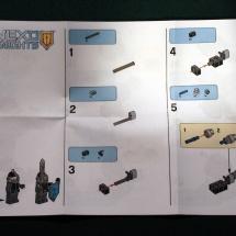 Nexo Knight Instructions 1