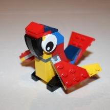 LEGO Parrot Completed
