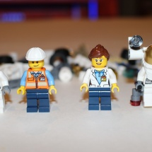 LEGO Space Starter Set Minifigures