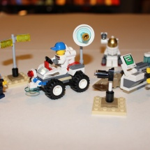 LEGO Space Starter Set Completed