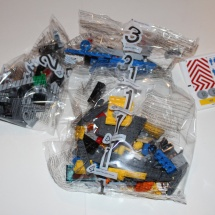 LEGO City Service Truck Contents