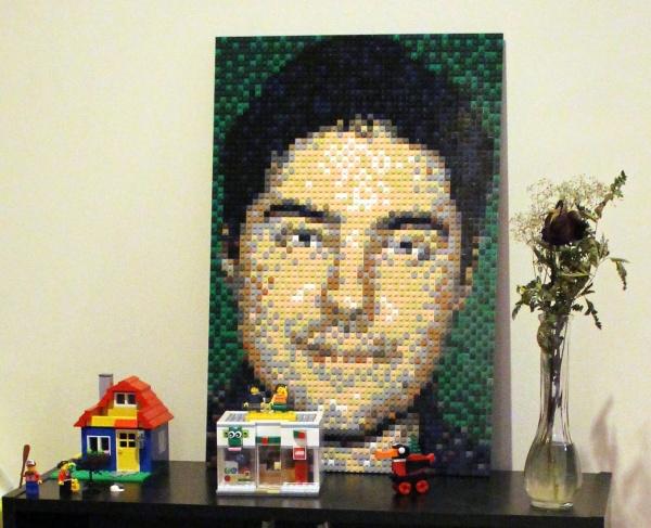 Clayburn Griffin LEGO Portrait 2