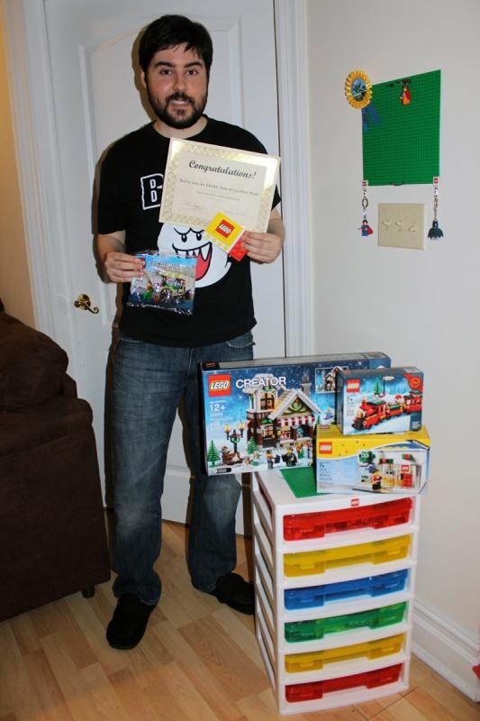 LEGO Apple Hunt Prizes