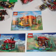 LEGO Lakeside Lodge 3 in 1 Booklets