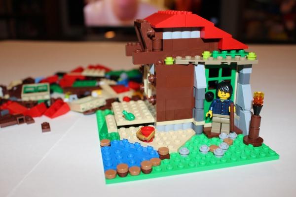 LEGO Writer's Cabin