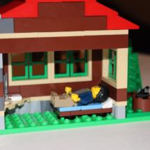 LEGO Lakeside Lodge Bed