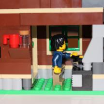 LEGO Lakeside Lodge Cooking