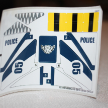 LEGO Helicopter Pursuit Decals