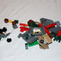 LEGO Helicopter Pursuit Pieces
