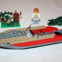 LEGO Helicopter Pursuit Speedboat