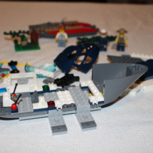 LEGO Helicopter Pursuit 10