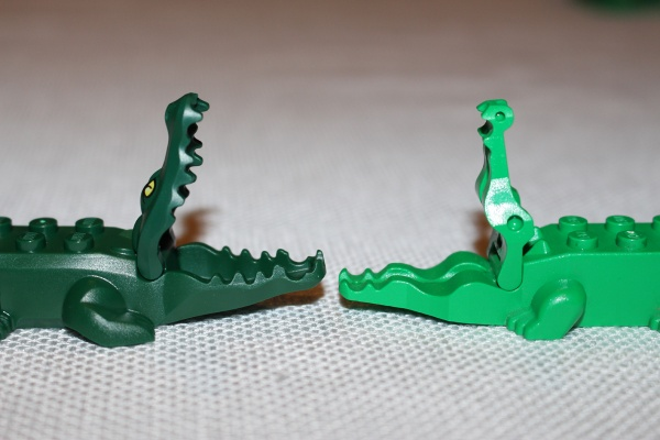 LEGO Alligator Old vs New