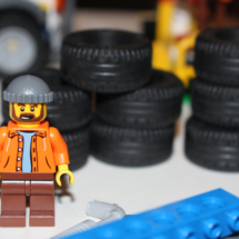 LEGO Fairground Mixer Carnival Worker