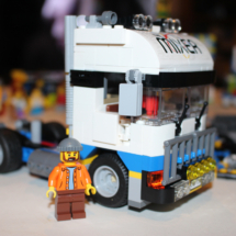 LEGO Fairground Mixer Completed Truck