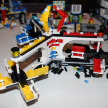 LEGO Fairground Completed Mixer