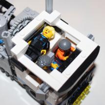 LEGO Fairground Mixer Truck Cabin