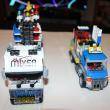 LEGO Fairground Mixer Trucks