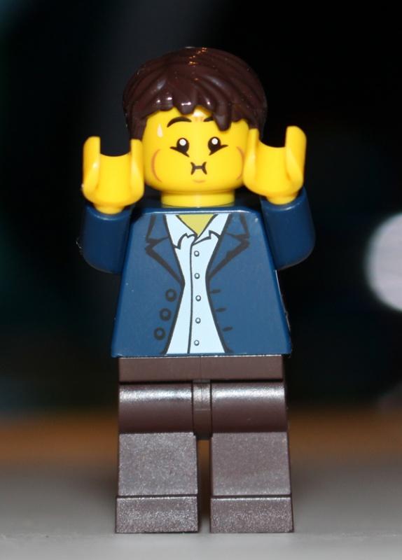 LEGO Puke Face