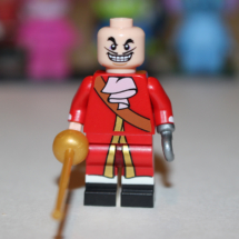 LEGO Captain Hook without Hair