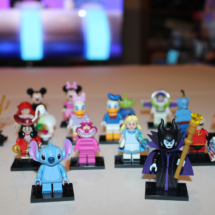 LEGO Stitch and Maleficent with Collection