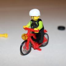 LEGO Bicyclist